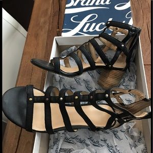 Lucky Brand Leather Lisbethe Sandal